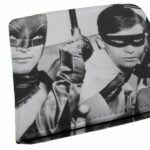 Carteira Batman E Robin Série Preto E Branco