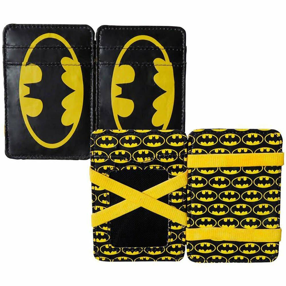 Carteira Batman Logo Preto E Amarelo