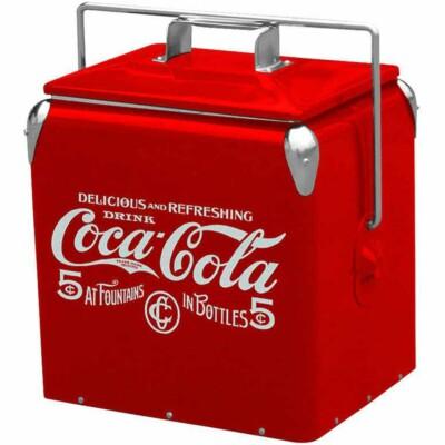 Cooler De Bebidas Coca-cola 5 Cents 36cm