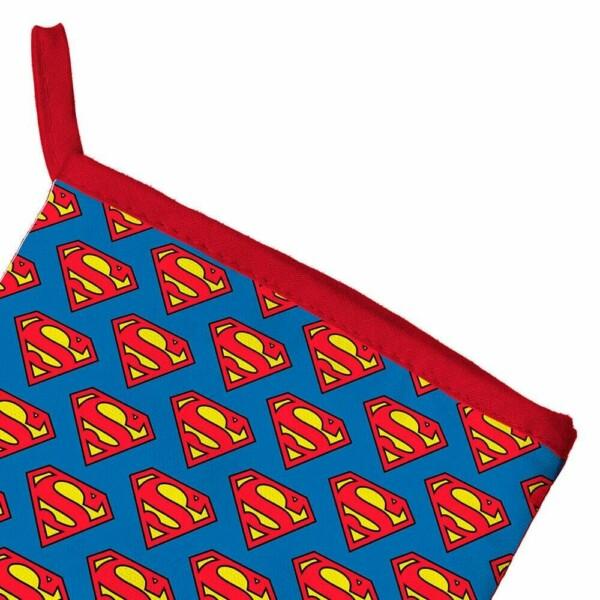Luva De Cozinha Superman Mini Logos