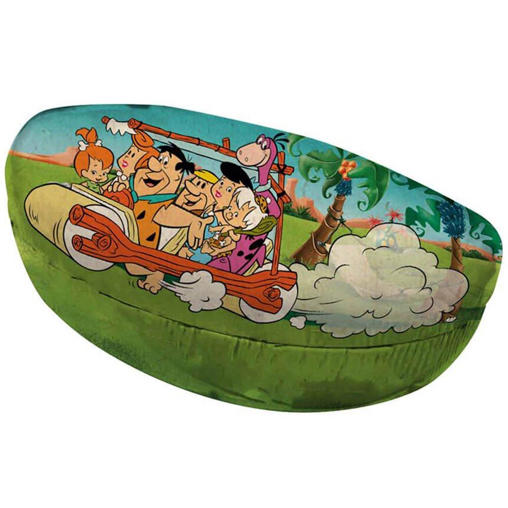 Porta Óculos Flintstones Family In Car