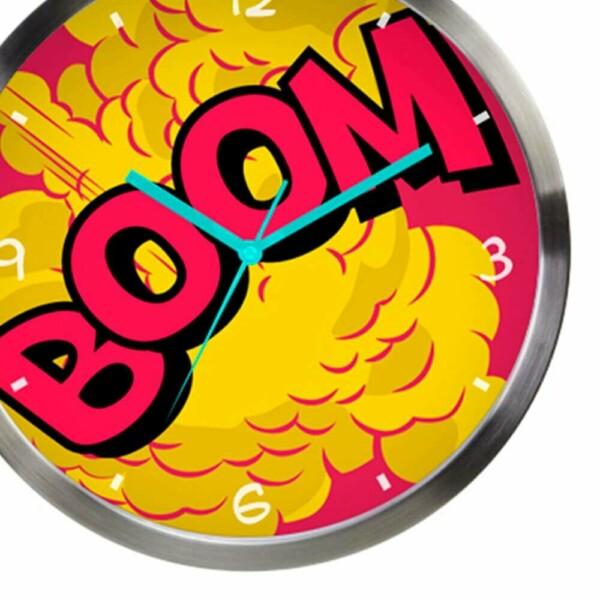 Relógio De Parede Dc Comics Boom 30cm