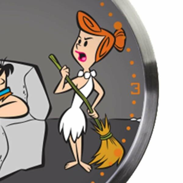 Relógio De Parede Flintstones Fred E Vilma Resting