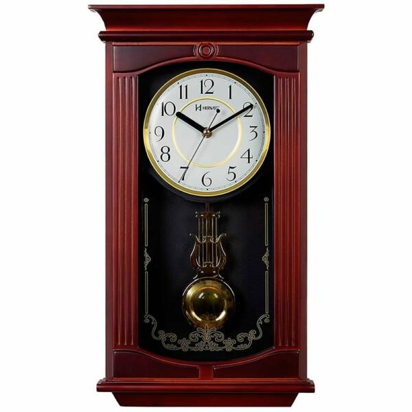 Relógio Parede Herweg Clássico Pêndulo 5314-084