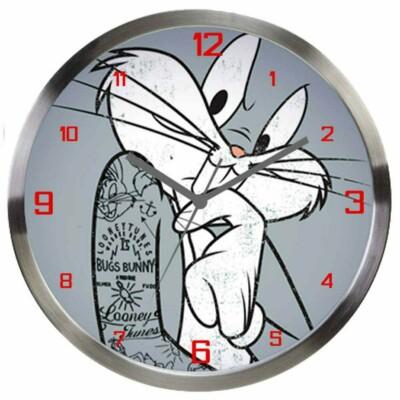 Relógio De Parede Pernalonga Concerned 30cm