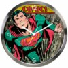 Relógio De Parede Superman Verde 30cm