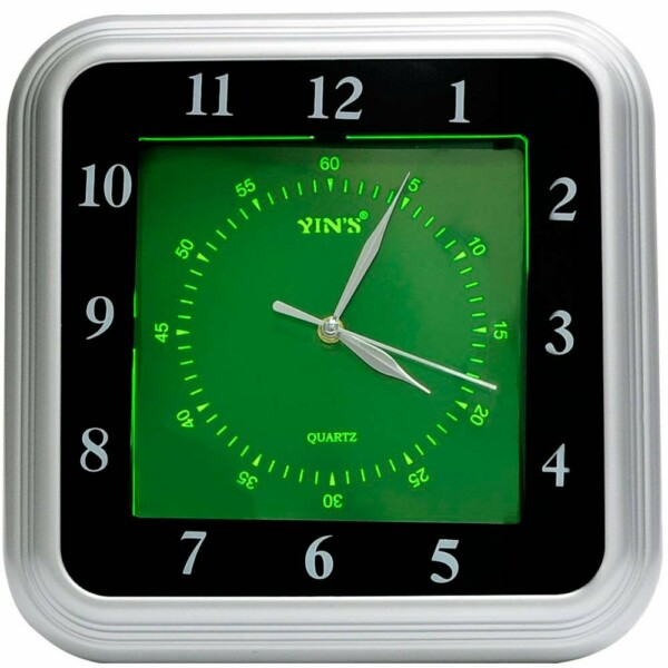 Relógio De Parede Yins Yi15083 Fluorescente