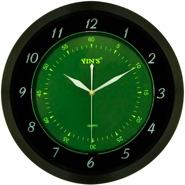 Relógio De Parede Yins Yi15127 Fluorescente
