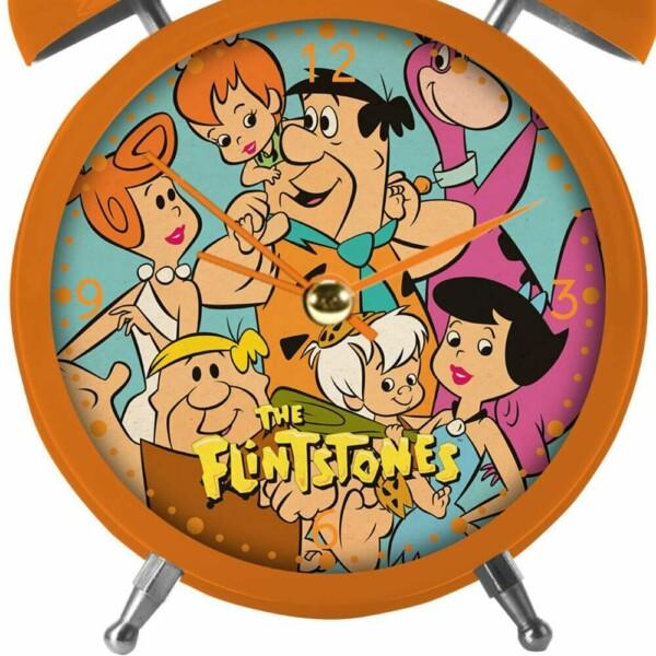 Relógio Despertador Flinstones All Family Nature