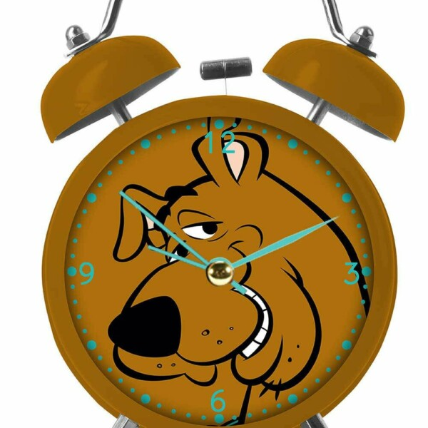 Relógio Despertador Scooby-doo Face