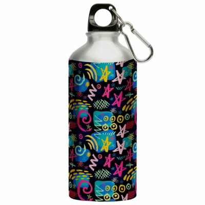 Squeeze Arte Moda Colorida Moderna Chique 500ml