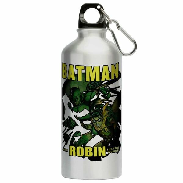 Squeeze Batman And Robin 500ml Aluminio