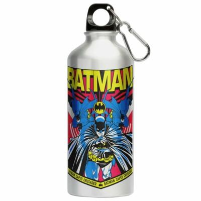 Squeeze Batman Resgate 500ml Aluminio