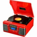 Toca Discos Classic Autorama Vermelho 33837