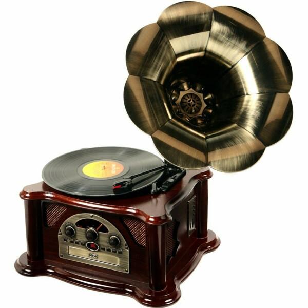 Toca Discos Classic Gramophone Texas 33752