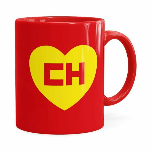 Caneca Chapolin Colorado Logo Vermelha