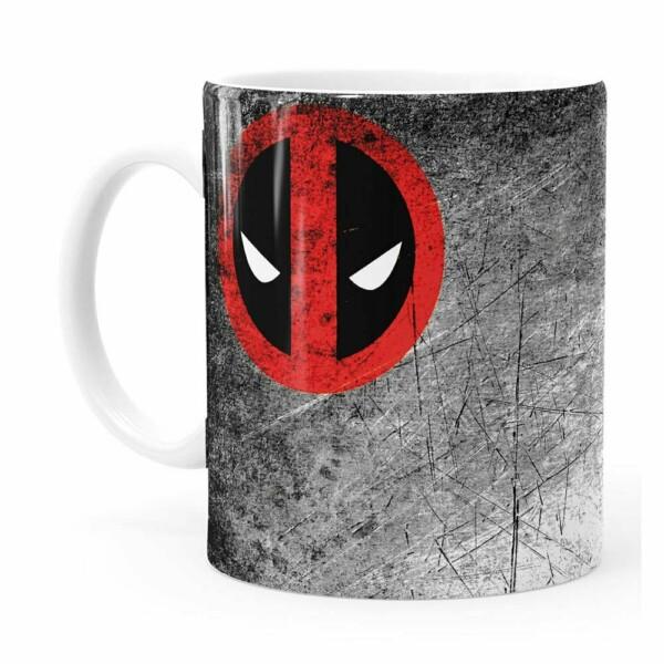 Caneca Deadpool V01 Branca