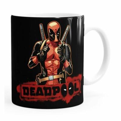 Caneca Deadpool V04 Branca