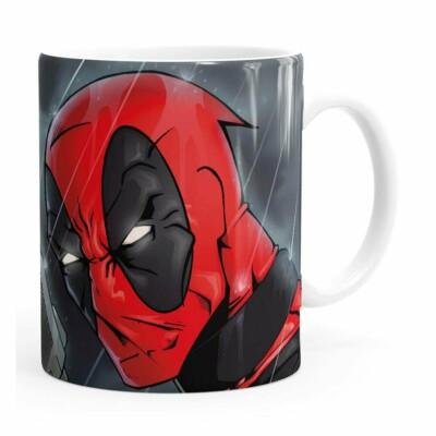 Caneca Deadpool V06 Branca