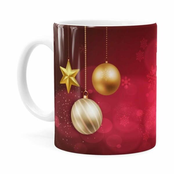 Caneca Feliz Natal É Tempo De Renovar Branca