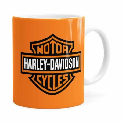 Caneca Harley Davidson American Branca