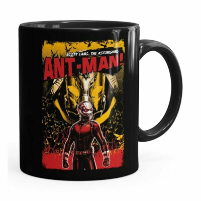 Caneca Homem-formiga V02 Preta