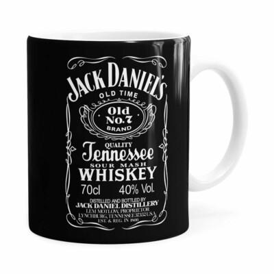 Caneca Jack Daniels Whiskey Branca