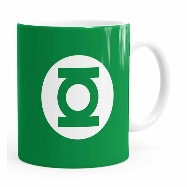 Caneca Lanterna Verde V01 Branca