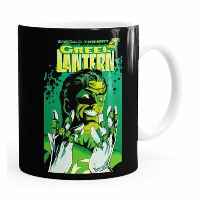 Caneca Lanterna Verde V02 Branca