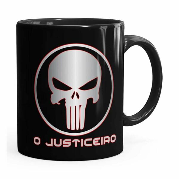 Caneca O Justiceiro V01 Preta