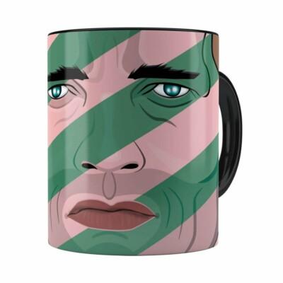 Caneca O Predador Schwarzenegger Preta