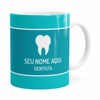 Caneca Personalizada Dentista Branca