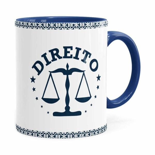 Caneca Profissões Advogado V01 Azul Escuro