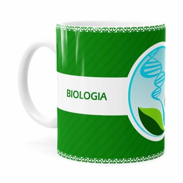Caneca Profissões Biologia V01 Branca