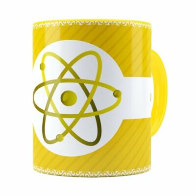 Caneca Profissões Física V01 Amarela