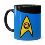 Caneca Star Trek Ciência Preta