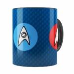 Caneca Star Trek Comando, Engenharia E Ciência Preta