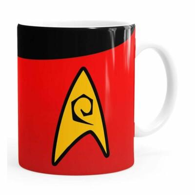 Caneca Star Trek Engenharia Branca