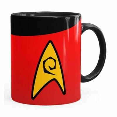 Caneca Star Trek Engenharia Preta