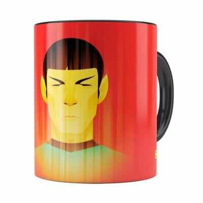 Caneca Star Trek Spock V01 Preta