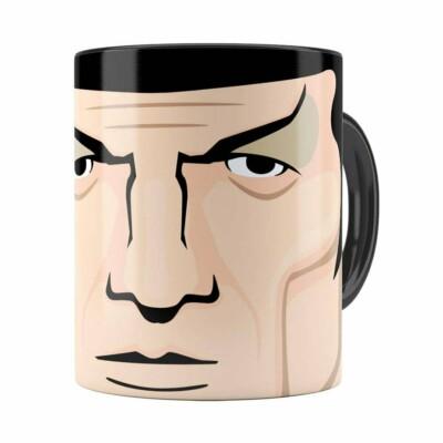 Caneca Star Trek Spock V02 Preta