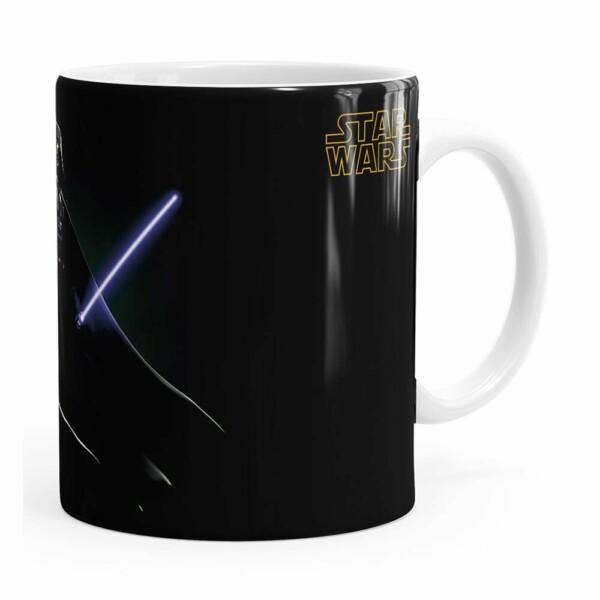 Caneca Star Wars Darth Vader V05 Branca