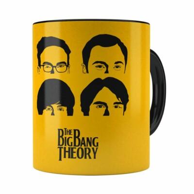 Caneca The Big Bang Theory V01 Preta