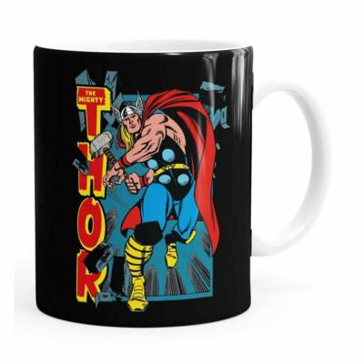 Caneca Thor The Mighty V02 Branca
