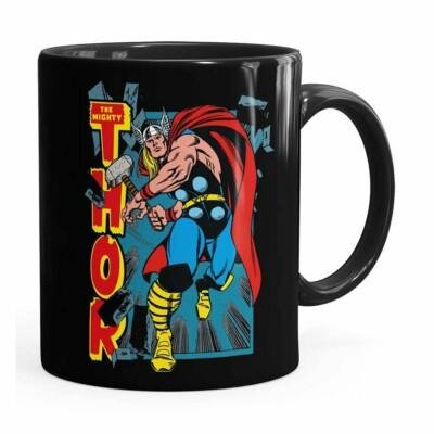 Caneca Thor The Mighty V02 Preta
