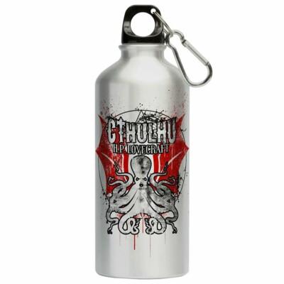 Squeeze Lovecraft Cthulhu 500ml Aluminio