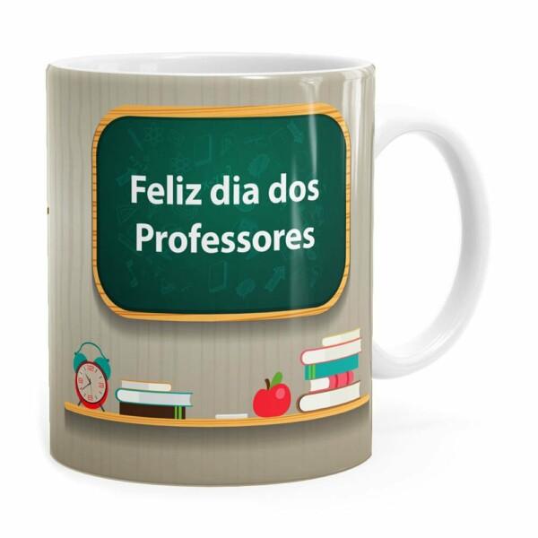 Caneca Dia Dos Professores Quem Compartilha Branca