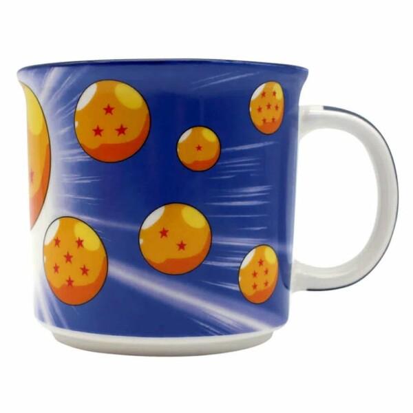 Caneca Dragon Ball Son Goku Esferas 350ml