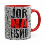 Caneca Jornalismo Black Jornal Vermelha