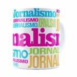Caneca Jornalismo Colors Branca